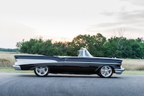 1957 Chevy Bel Air Convertible Side View