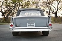 1957 Chevy Bel Air Convertible Rear