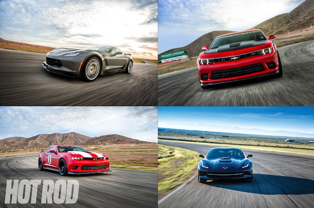 2015 Chevy Corvette Z06 Vs 2014 Chevy Z28 Vs 2014 Chevy Camaro 1LE
