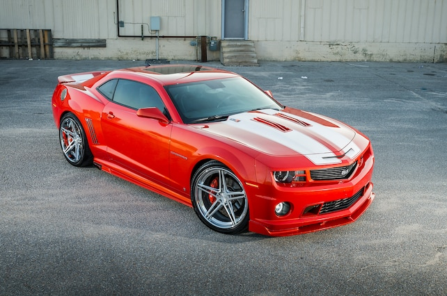Supercharged 2010 Chevrolet Camaro Ss
