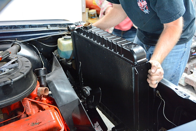 1964 Chevelle Cooling System Us Radiator Upgrades 001