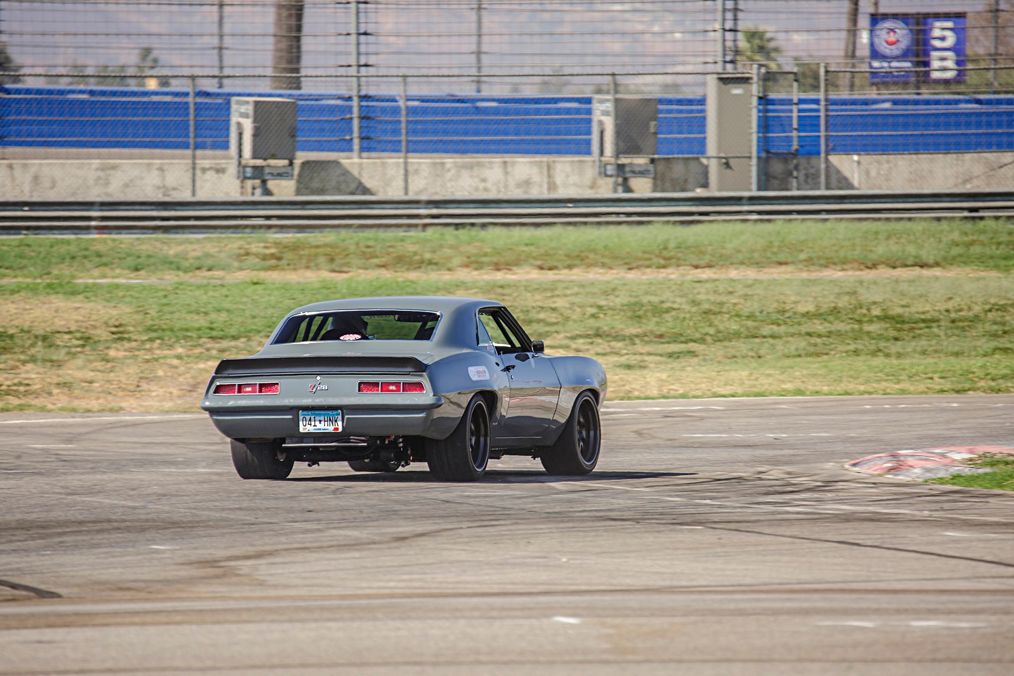 1969 Schwartz Camaro Falken Tires Super Chevy Muscle Car Challenge Rt615k 015