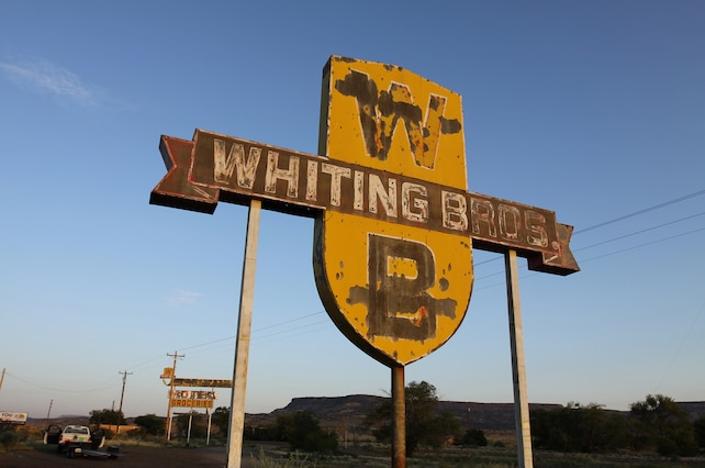 Whiting Brothers Sign