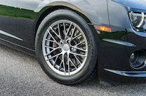 2012 Chevrolet Black Camaro Ss Wheel