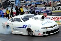 Nhra Pro Stock Rodger Brogdon Camaro Burnout
