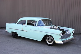 Wicked 1955 Chevy Street Shaker Packs a Punch