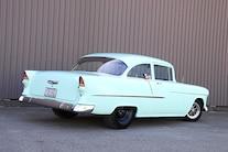 1955 Chevrolet 210 Rear Three Quarter