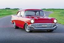 1957 Chevy Bel Air Pendelton Three Quarter