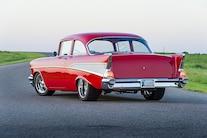 1957 Chevy Bel Air Pendelton Rear Three Quarter