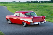1957 Chevy Bel Air Pendelton Rear Overview