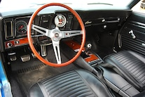 1969 Chevrolet Camaro Z28 Interior Overall