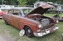 062 1955 1956 1957 Chevrolet Tri Five Chevy Patina