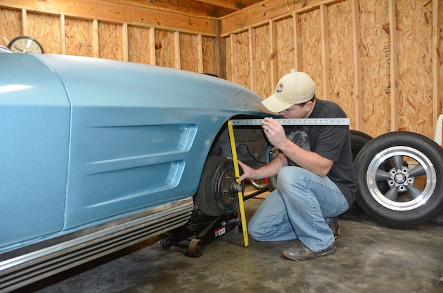 How to Measure Your C2 Corvette for Proper Tire and Wheel Fitment