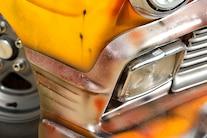 1956 Chevy Faux Patina Drag Car 065