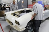 Replacing the Front End on a 1959 Corvette