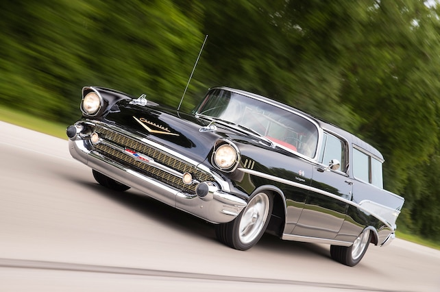 1957 Chevrolet Nomad Front