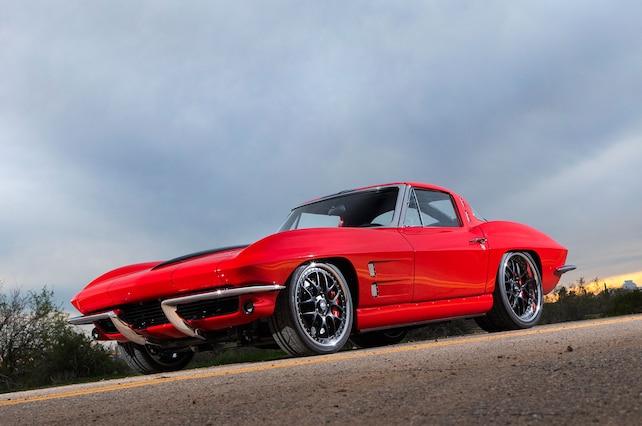 1963 Chevrolet Corvette Coupe Sting Ray Split Window