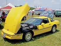 Vemp 0903 Pl 1990 1995 Chevrolet Corvette Zr1 History