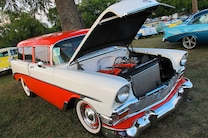2015 Danchuk Chevy Tri Five Nationals 16 1956 210 Handyman Wagon