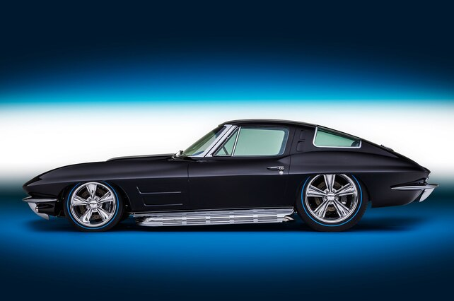 1963 Chevrolet Corvette Side View