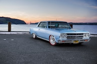 Low and Mean LS3-Powered 1965 Chevy Malibu