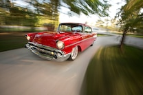 Pro Touring 1957 Chevy Bel Air Driving