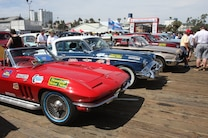 2015 Great Race Corvette Finish Santa Monica Pier