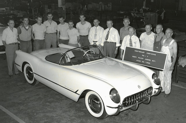 1953 Corvette Chassis Number3 Cutaway Mackay 001