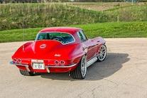 1967 Chevrolet Corvette Coupe Big Block 502 Rear Quarter View