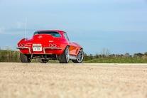 1967 Chevrolet Corvette Coupe Big Block 502 Rear Far View