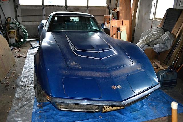 1971 Corvette Convertible Lt1 Rare Finds Allen 001