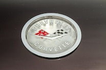 1958 Chevrolet Corvette Racing Flags