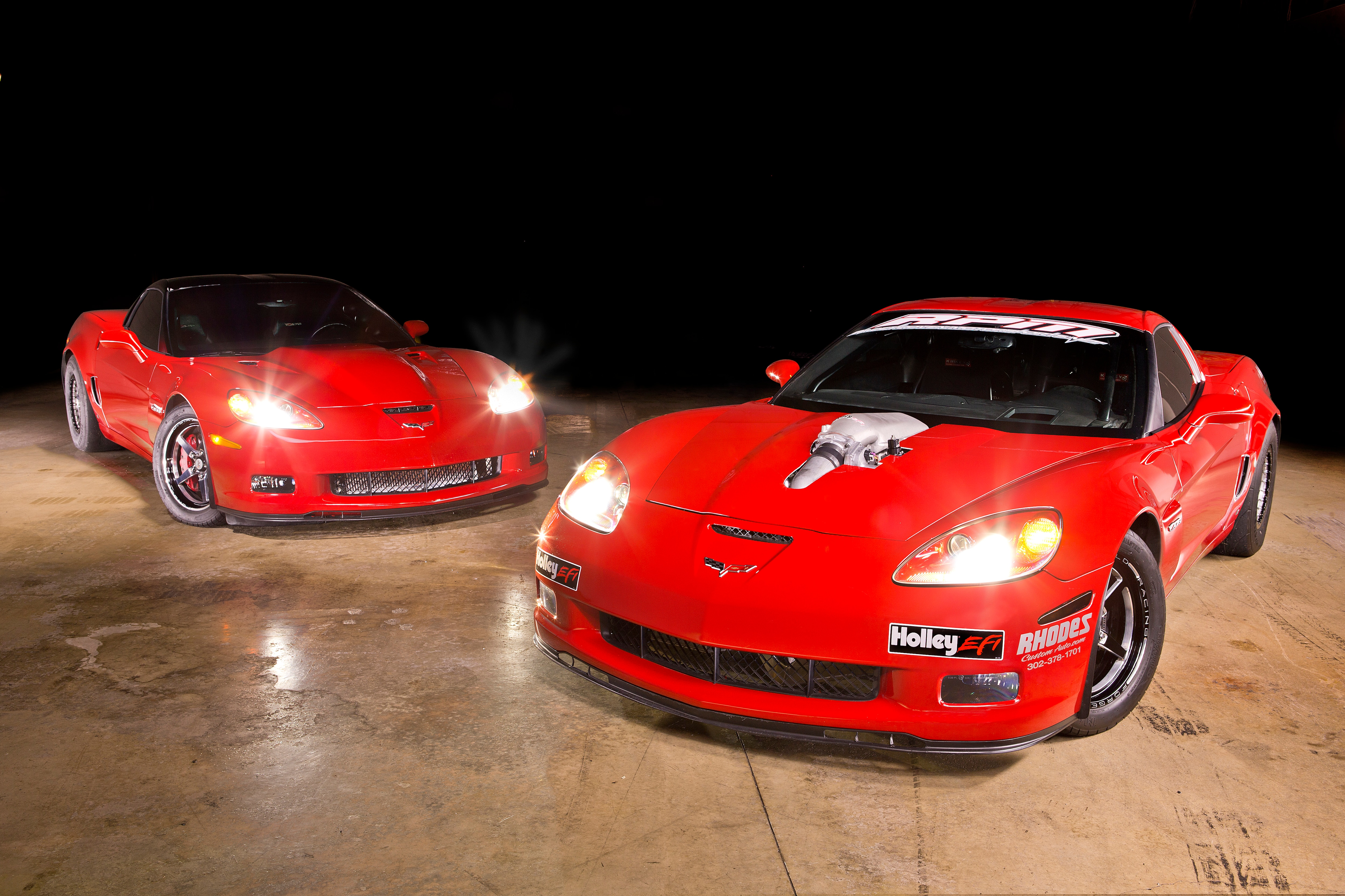 Street vs Track: A Pair of ProCharged 2007 Corvette C6 Z06s Packing 1,200+ RWHP