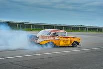 1956 Chevy Faux Patina Drag Car 057