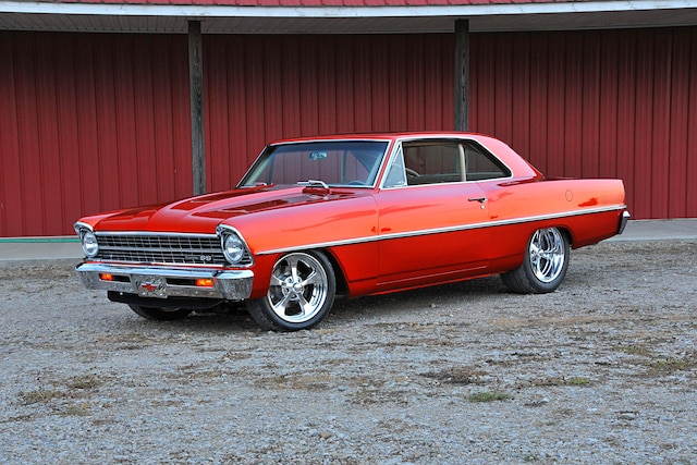 This twin-turbo, LS1-equipped Nova is a consistent show winner