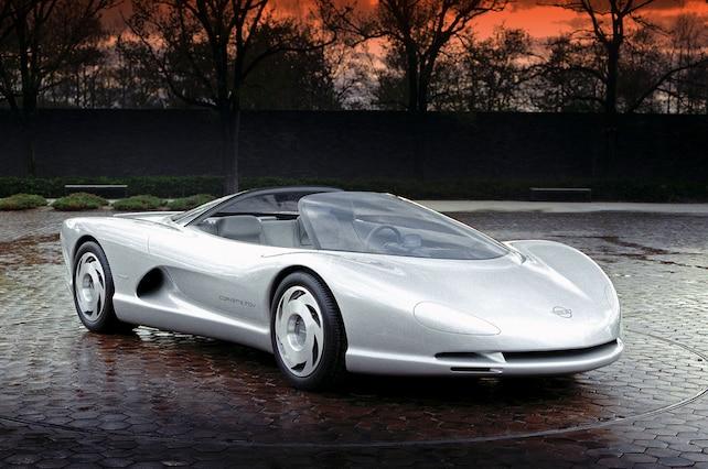 Indy Corvette Concept Silver