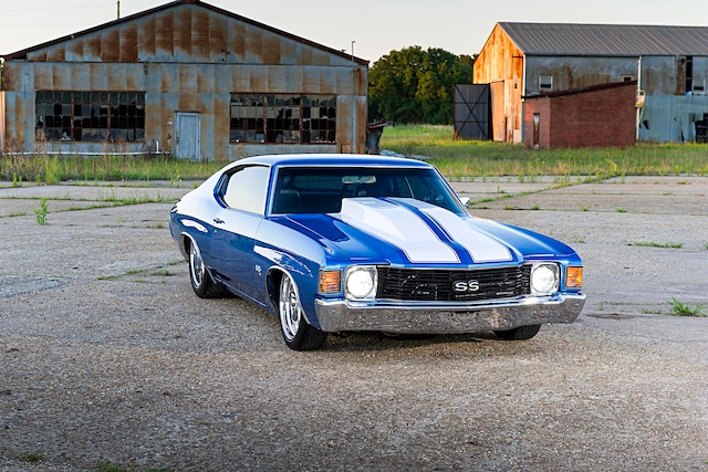 Low And Mean 1972 Chevrolet Chevelle With Over 640 Horsepower