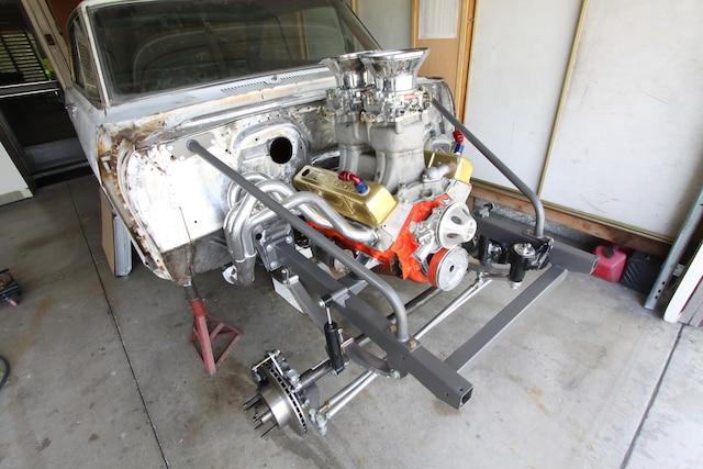 Nova Gasser Subrame Headers Engine