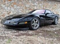 Vemp 0905 Pl 1991 Chevrolet Corvette ZR1 Driver Side View
