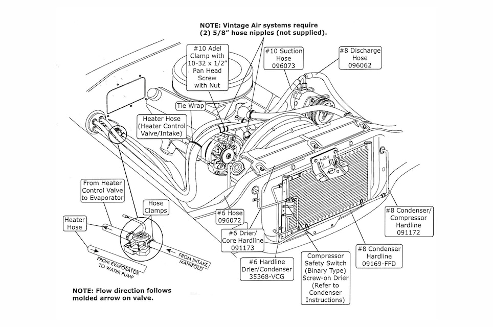 Excellent Gen 2 Vintage Air Conditioning Wiring Diagram Vintage Air Ac Line Wiring Digital Resources Funapmognl
