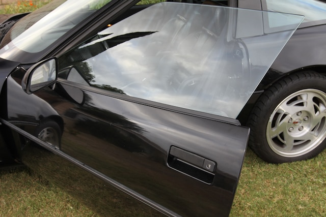 1 C4 Vette Outer Window Seal New Seal Installed
