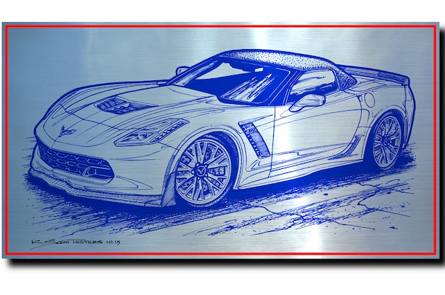 2015 Chevrolet Corvette Roadster Front Side View