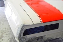 030 1969 Camaro White Hugger Orange Pacecar Convertable A1 Design LS
