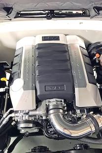 014 1969 Camaro White Hugger Orange Pacecar Convertable A1 Design LS