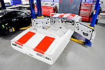 002 1969 Camaro White Hugger Orange Pacecar Convertable A1 Design LS