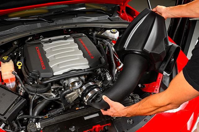 2016 Camaro Air Intake Holley Intech 001