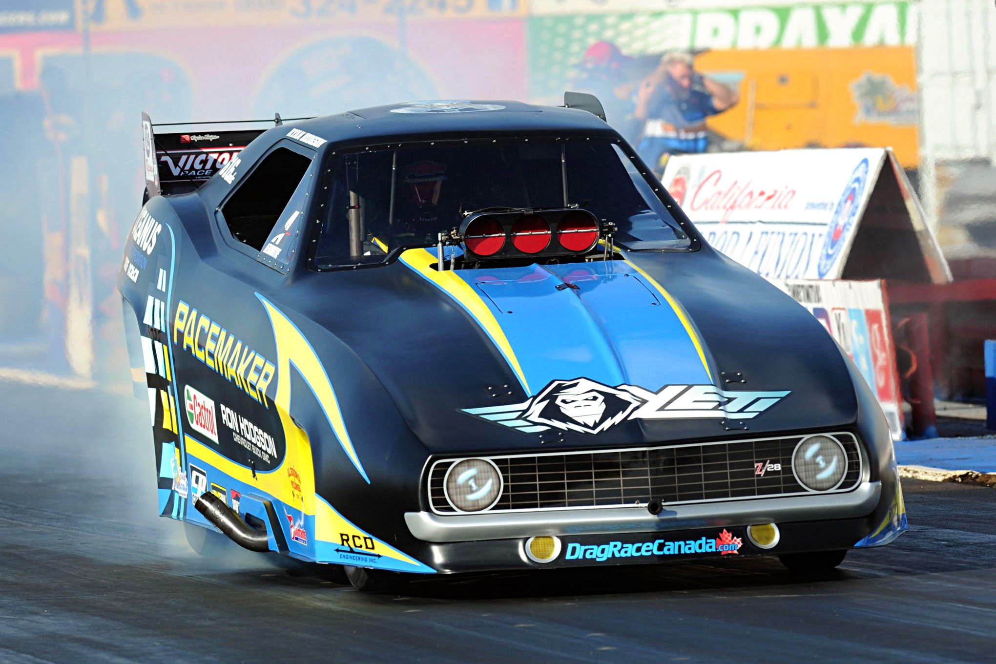 Camaros Finish 1-2-3 in NHRA Heritage Series Points Chase