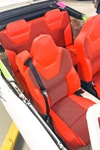 065 1969 Camaro White Hugger Orange Pacecar Convertable A1 Design LS