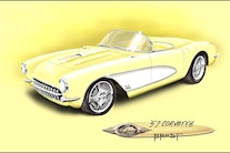 02 1957 Chevrolet Corvette C1 Steves Auto Restoration Habben