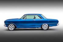 002 1965 Nova TCI Blue Small Block